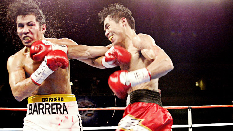This is the day when Manny Pacquiao stunned the boxing world