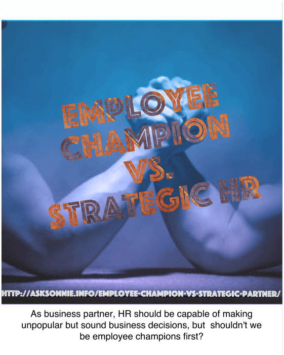 The Irony Of Being Employee Champion