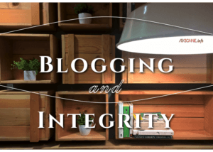 Integrity and blogging