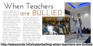 Cyberbaiting: When Teachers Are Bullied