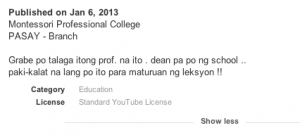 'Abusadong Professor', Another Case of Cyberbaiting?
