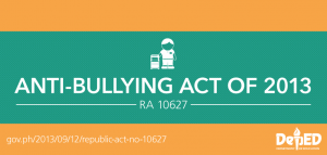 SIGNED: Anti-Bullying Act of 2013- WHAT TO EXPECT