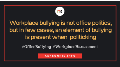 Understanding the Dynamics of Office Bullying