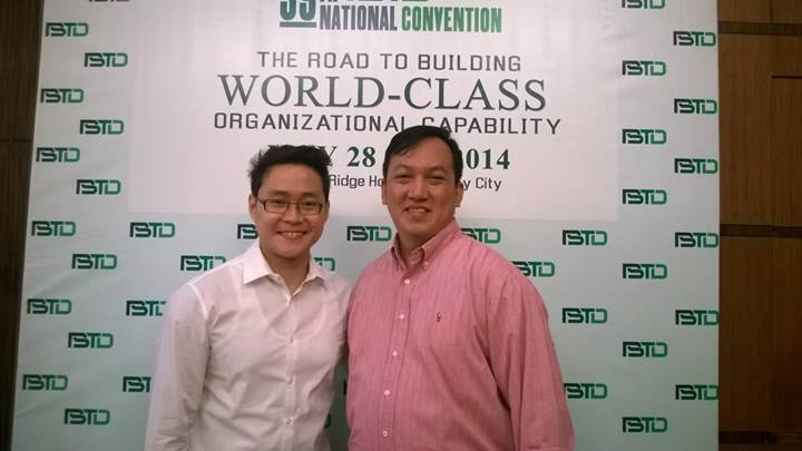 Sonnie Santos and Atty Chris Lao