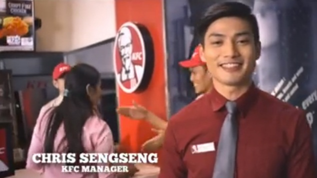 Christopher Sengseng, KFC Manager
