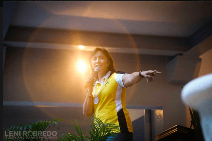 Leni Robredo recipient of vicious attack