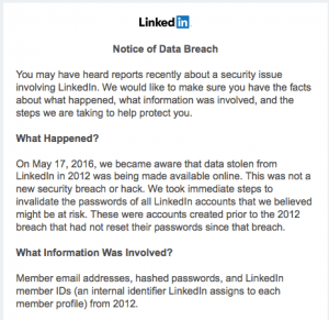 LinkedIn's Security Breach and Zuckerberg's Hacked Accounts
