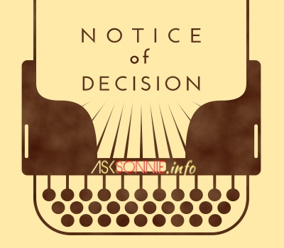 notice-of-decision