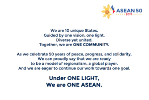 Celebrating ASEAN's 50th Anniversary