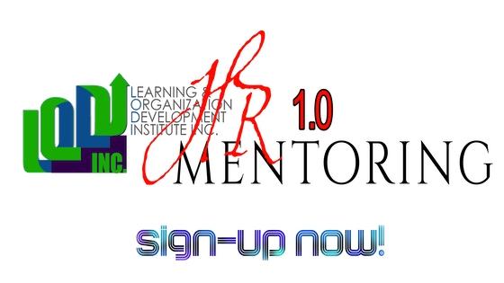 HR Mentoring 1.0 Program