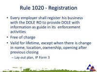 How To Register Your Company With DOLE