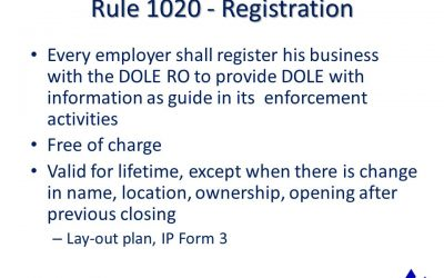How To Register Your Company To DOLE