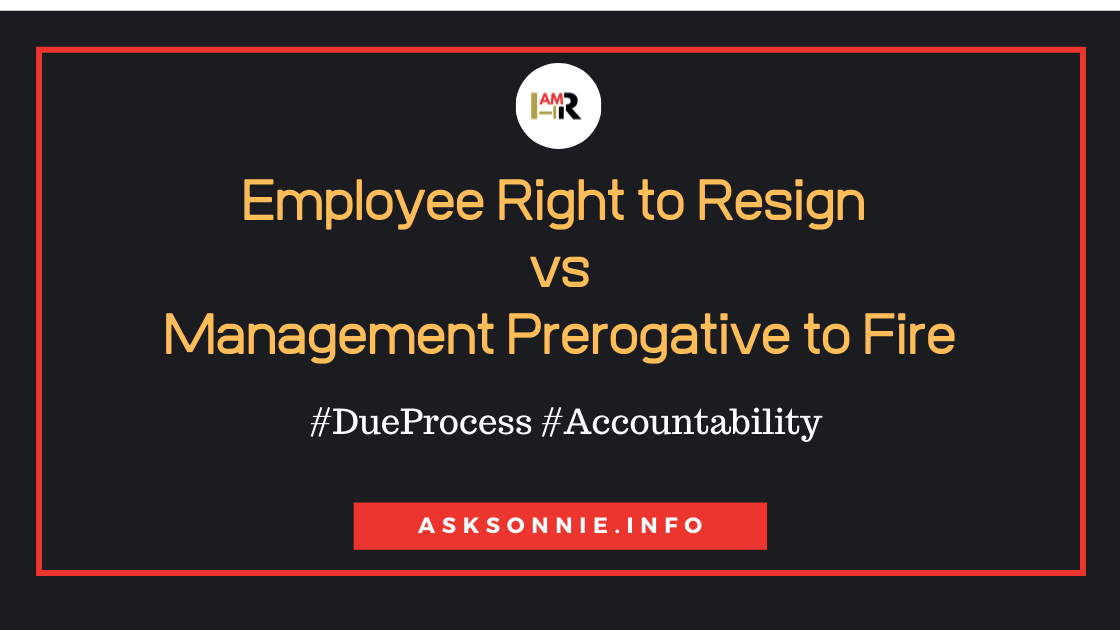 Can You 'Hold' the Resignation of Employee Under  Investigation?