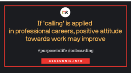 Is your Job a Calling?