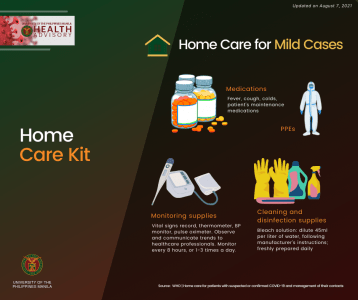 Care kit requirements for home care