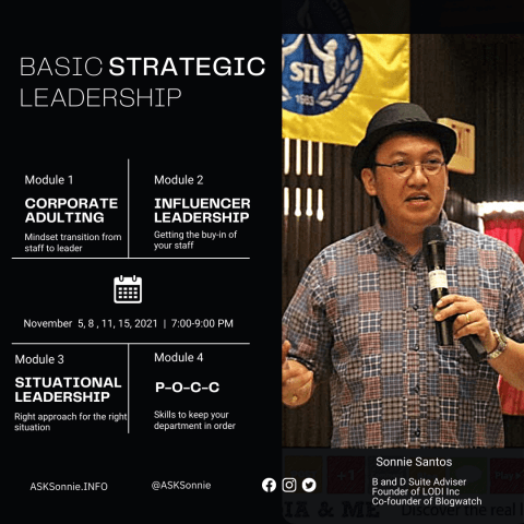 Basic Strategjc Leadership Sessio